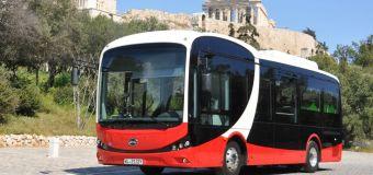 Στην Αθήνα το Ηλεκτρικό Λεωφορείο BYD