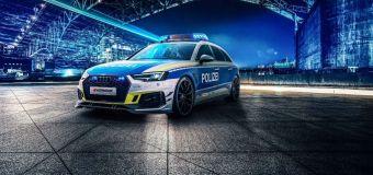Το αστυνομικό Audi RS4 Avant της ABT
