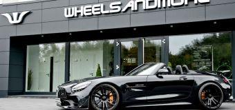 Η μαύρη AMG GT R της Wheelsandmore