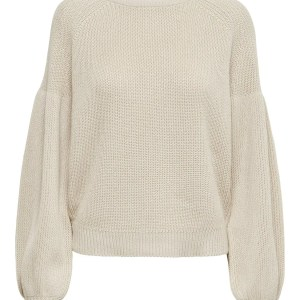 ONLLAYSLA LIFE L/S PULLOVER KNT  -  TOASTED COCONUT