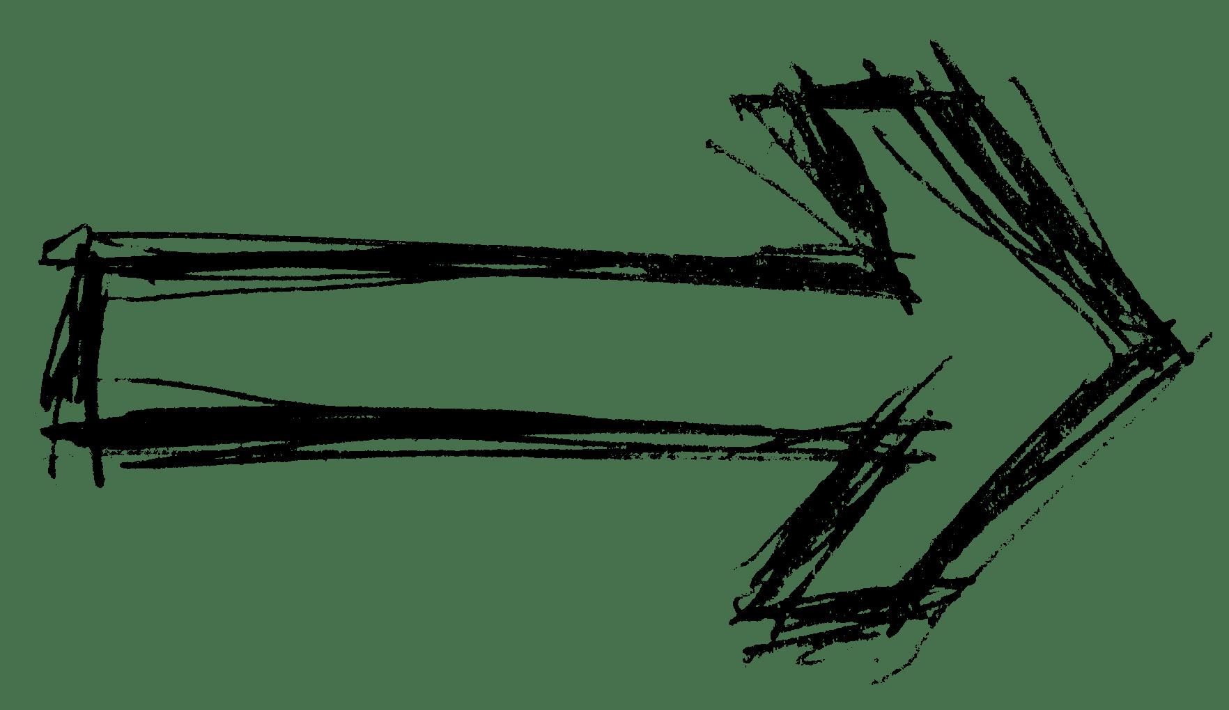 Hand Drawn Arrows Image Transparent