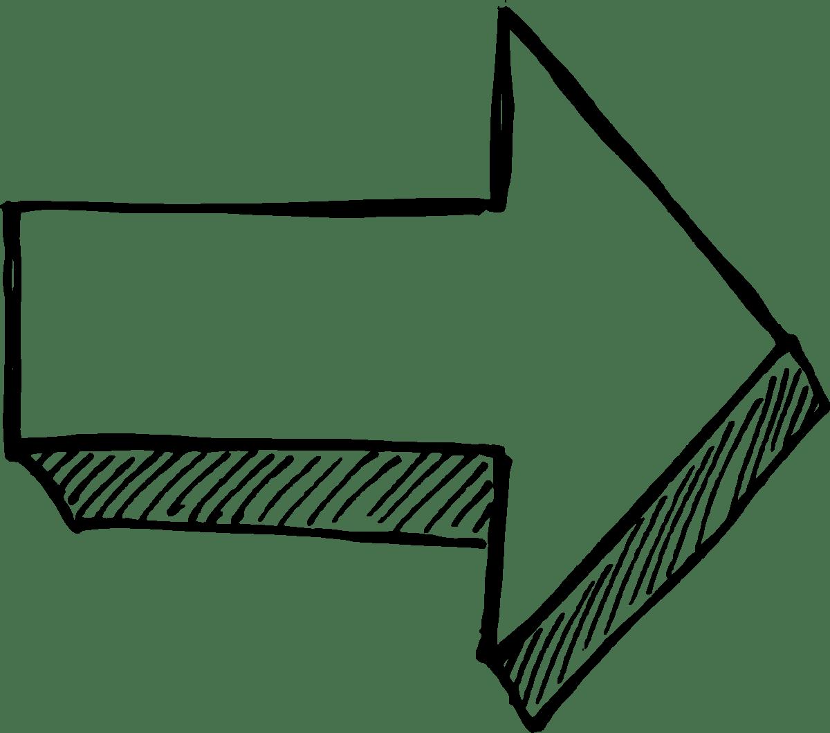 26 Arrow Drawing Transparent Vector Svg Vol 3