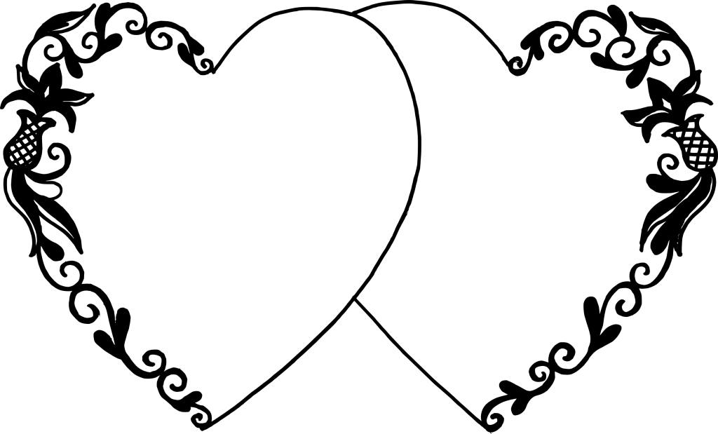 Download 8 Two Hearts Vector (PNG Transparent, SVG) | OnlyGFX.com