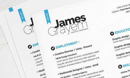 Resume / CV Template + Cover Letter