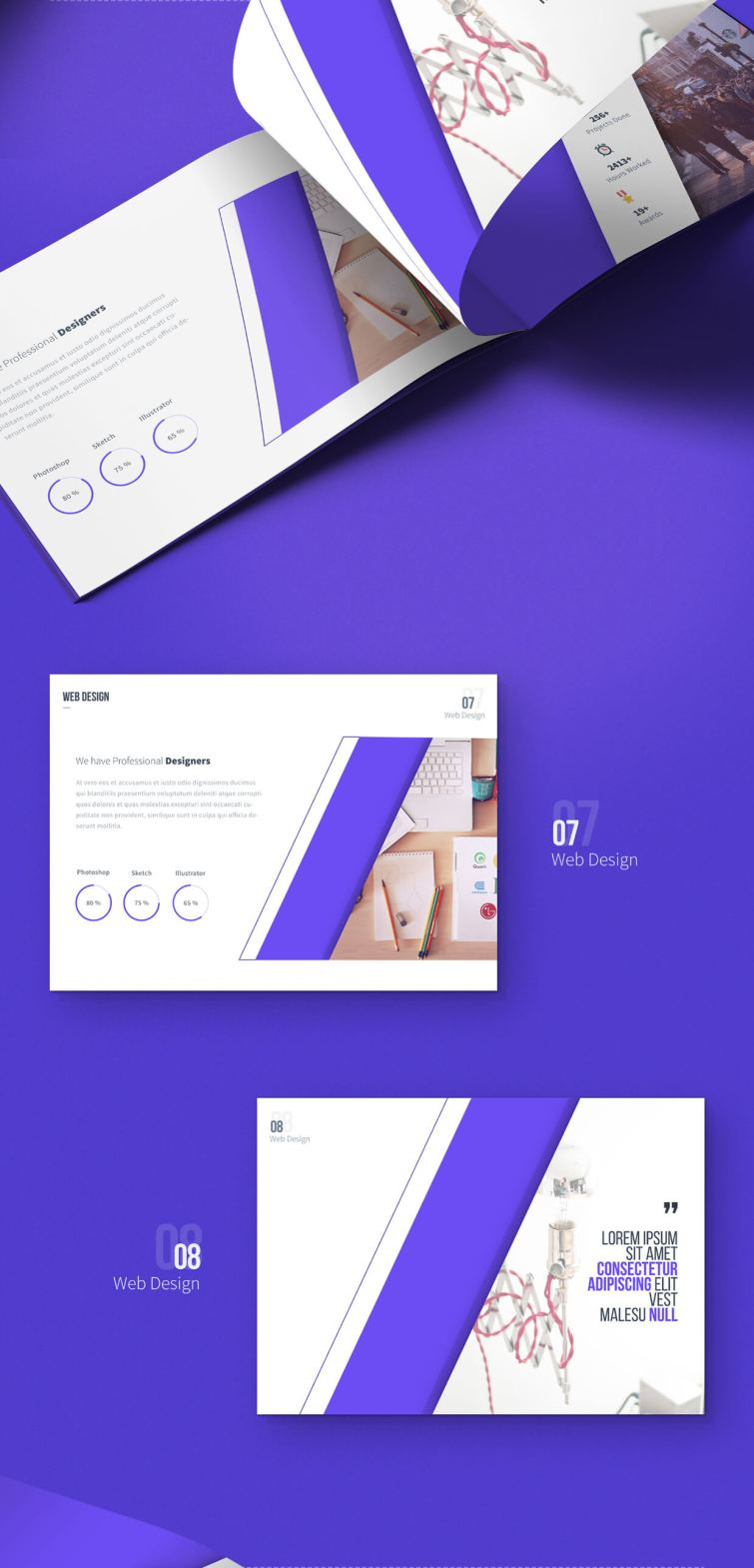 carsive 18 pages brochures template 03