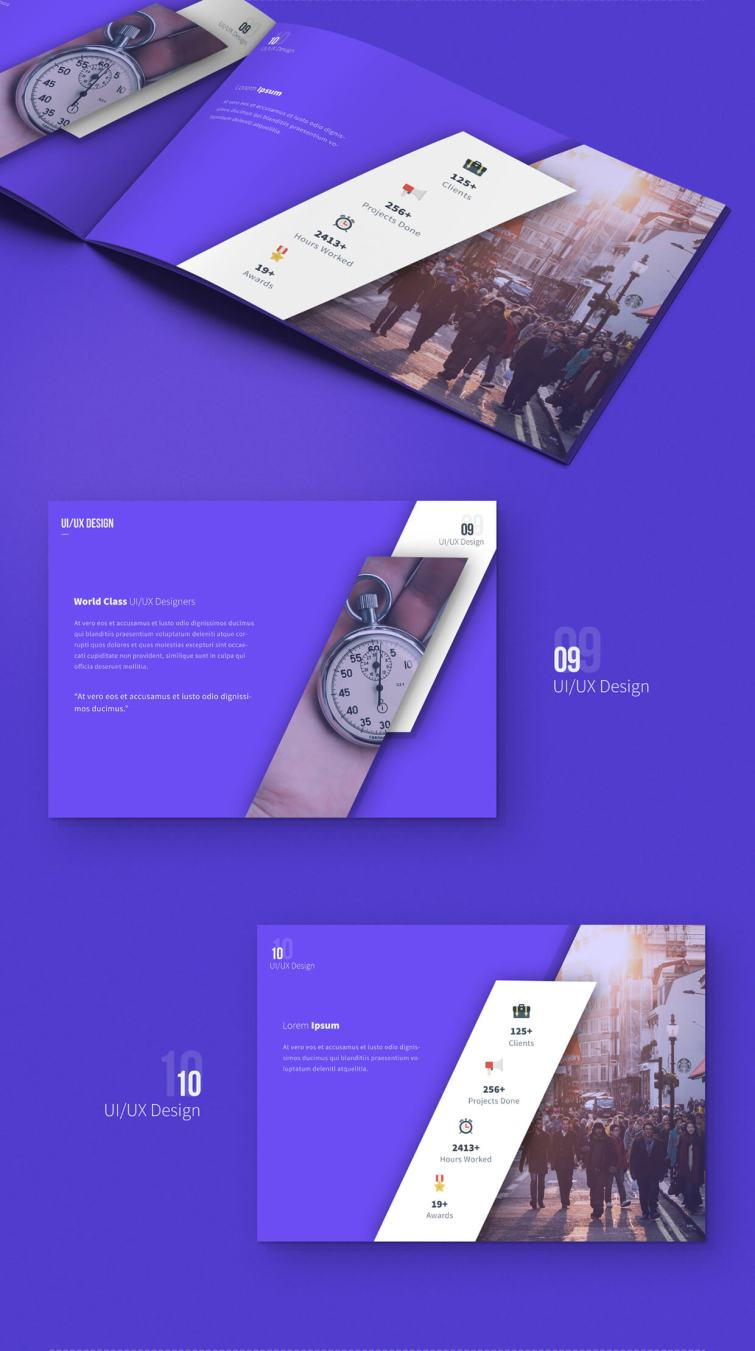 carsive 18 pages brochures template 04