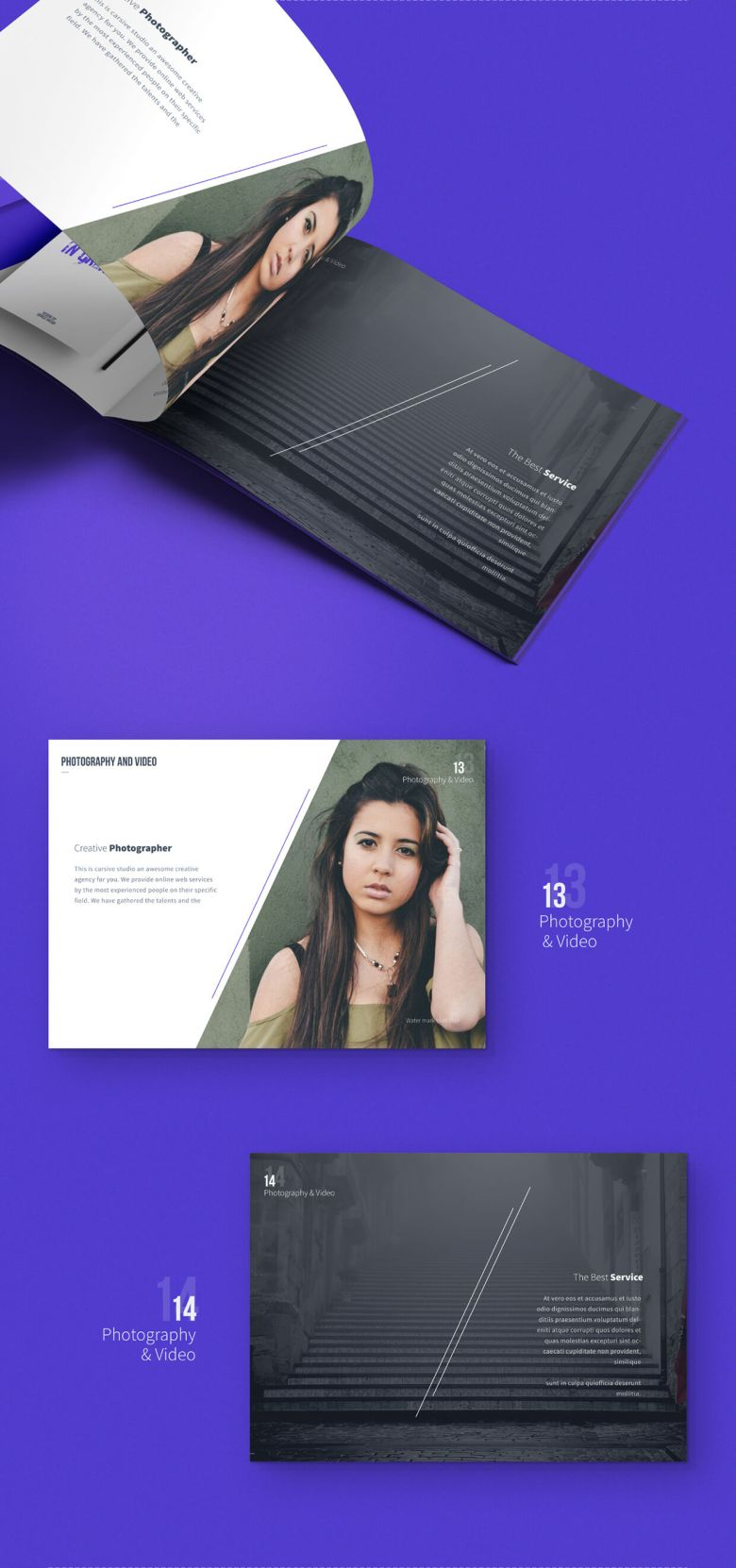 carsive 18 pages brochures template 06