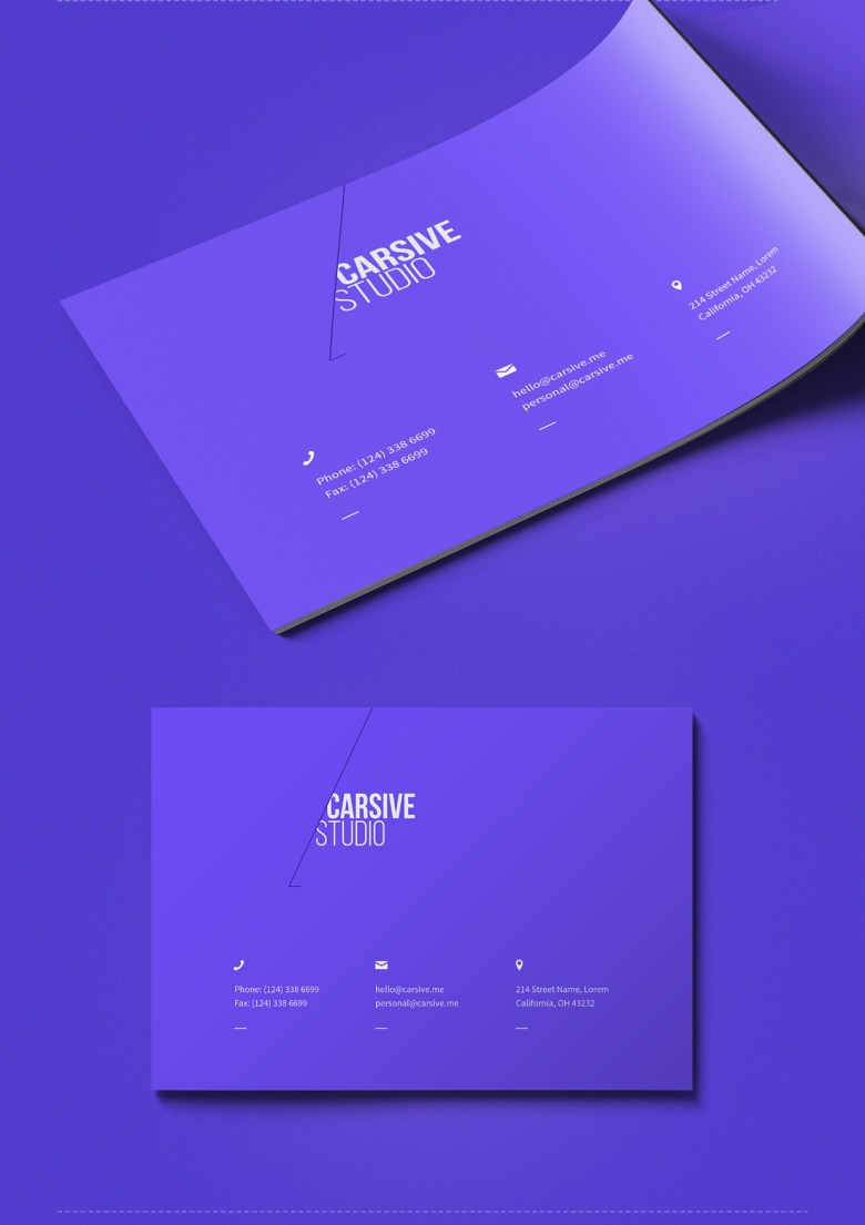 carsive 18 pages brochures template 08