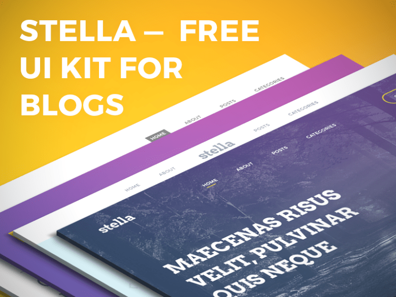 Stella-Blog-Free-UI-Kit-Cover