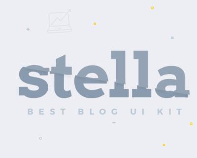 Stella-Blog-Free-UI-Kit