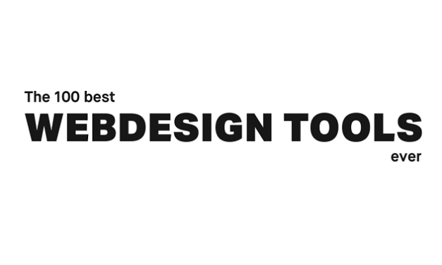 The 100 Best Web Design Tools Ever!