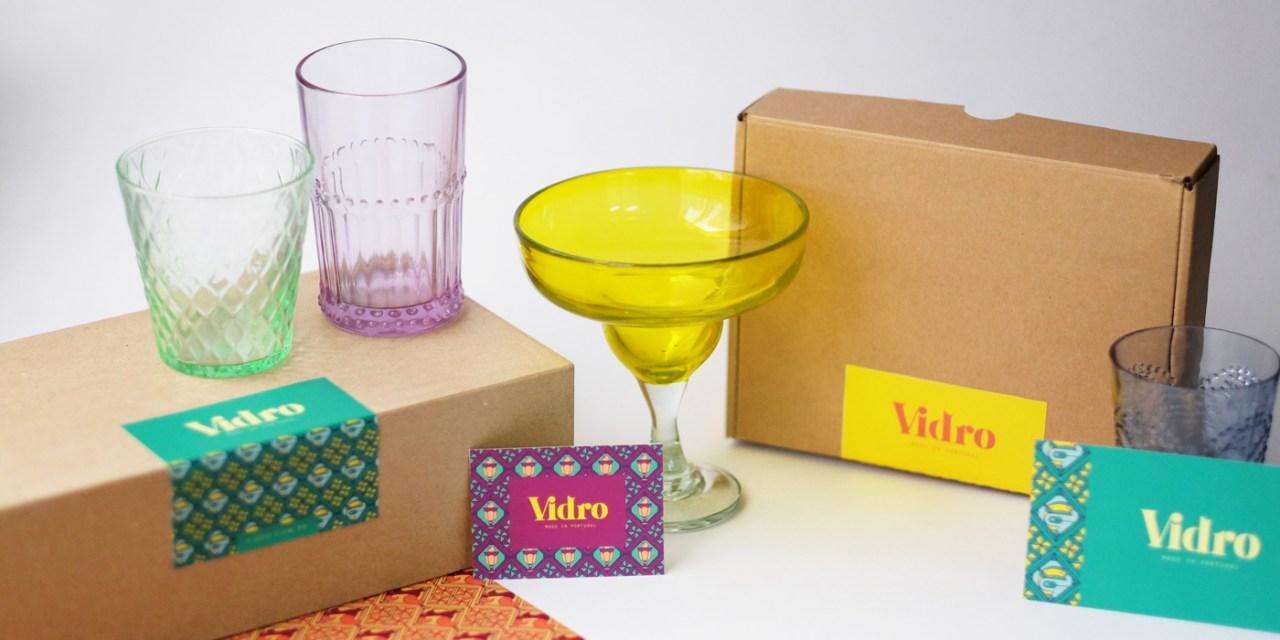 Vidro's Colorful Packaging & Branding