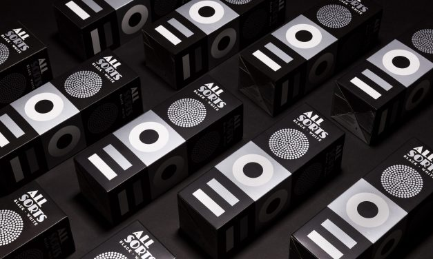Allsorts Black and White Edition Packaging