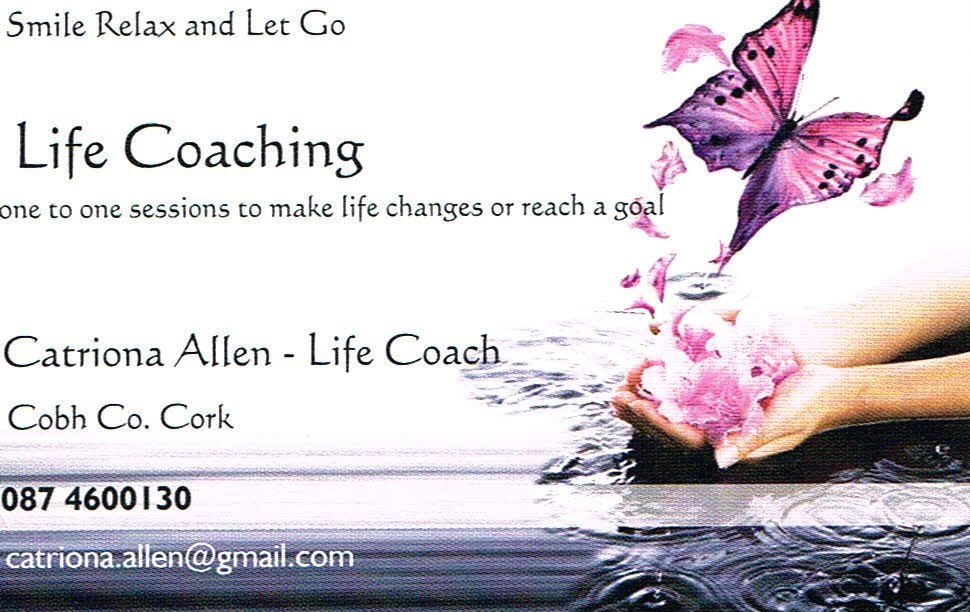 Life Coach Smile, Catriona healing Cork Relax and Let Go