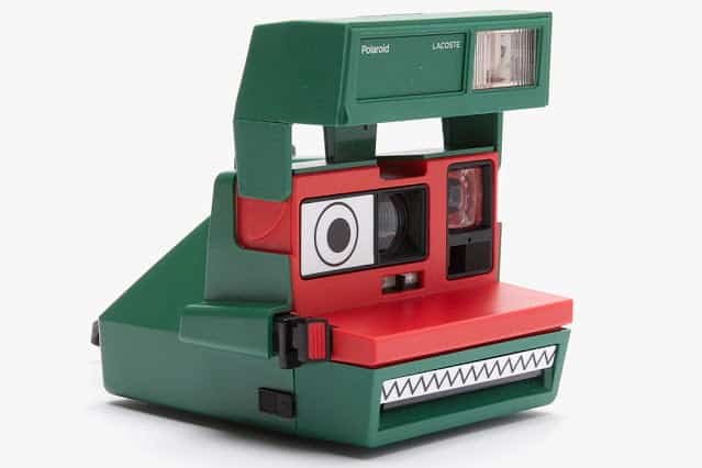 Lacoste x Polaroid 600 instant film camera 1