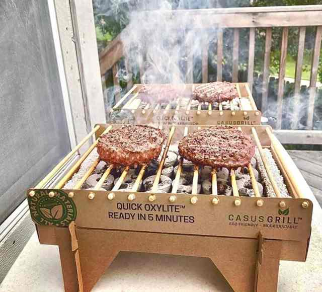 biodegradeable BBQ grill