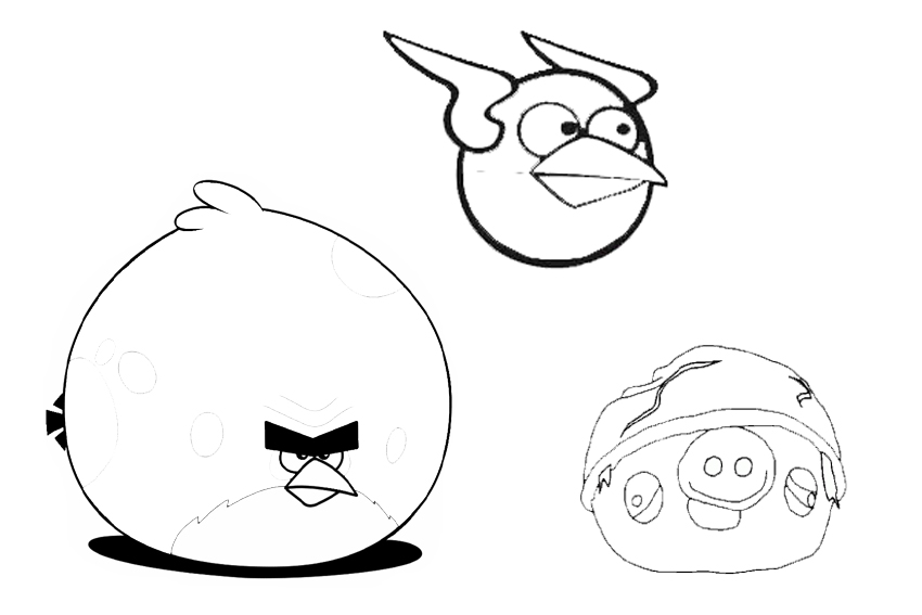 angry bird space coloring pages blackbird