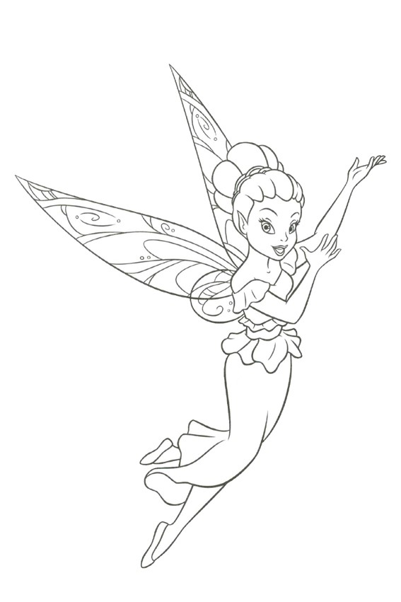 Fairy Coloring Pages Overview With Great Sheets To Color In