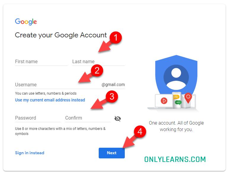 google-account-kaise-banta-hai