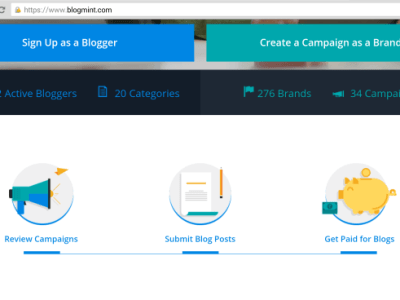 Blogmint: A Platform That Connects Brands To Bloggers