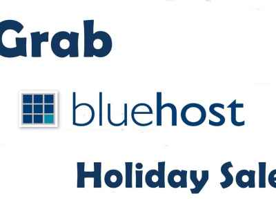 Grab Bluehost Holiday Sale