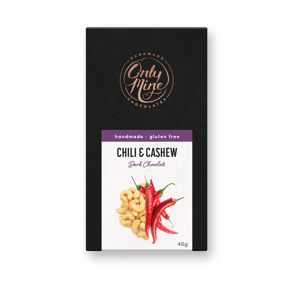 Chilli & Cashew Dark Chocolate Bars