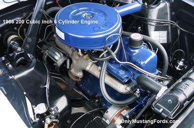 1966 ford 200cid 6 cylinder engine