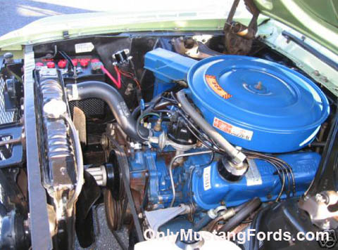 1968 mustang 302 v8 engine
