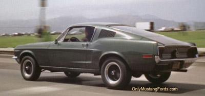 1968 Mustang bullitt and 2001 Bullitt limited edition
