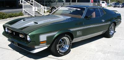 1971 mustang mach 1 stripes