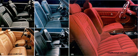 1979 interior styling foxbody mustang