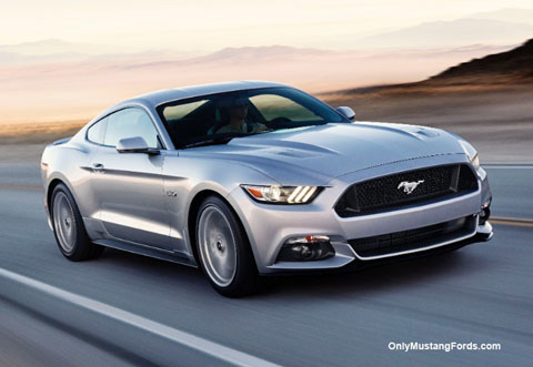 2015 silver mustang gt fastback