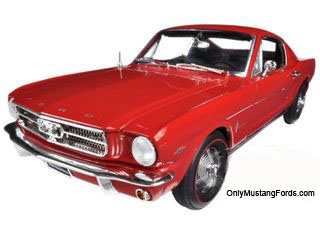 die cast 65 fastback rangoon red mustang