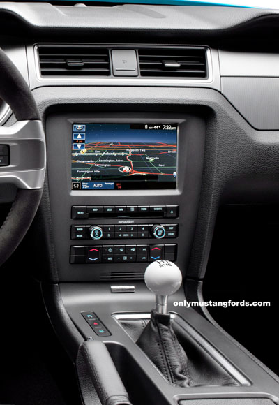 Ford Mustang Sync system GT500