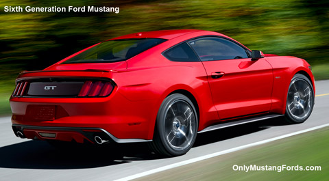 sixth generation Ford Mustang