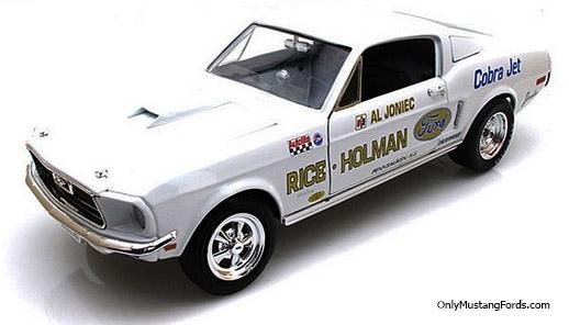 1968 Mustang super stock eliminator