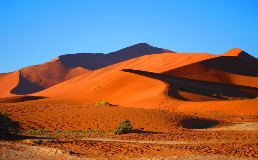 Places to return to – Sossusvlei Namibia