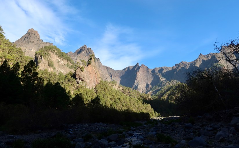 Gr131 and the Caldera on La Palma