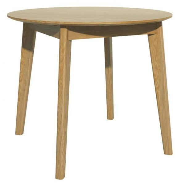 Scandic Oak Small Round Dining Table Only Oak Furniture Sale On