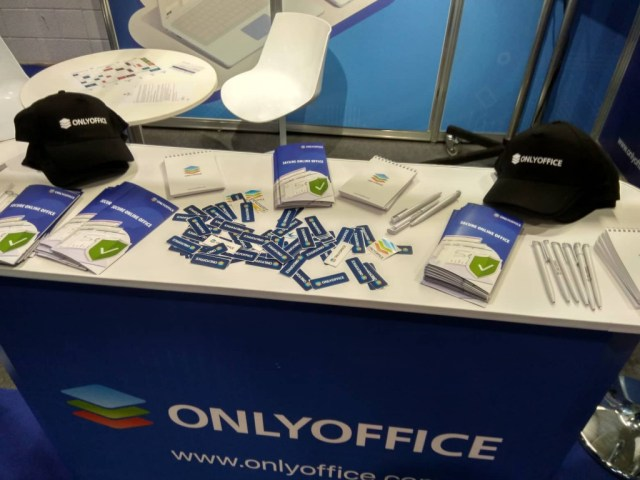 ONLYOFFICE stand at Cloud Expo Europe 2019