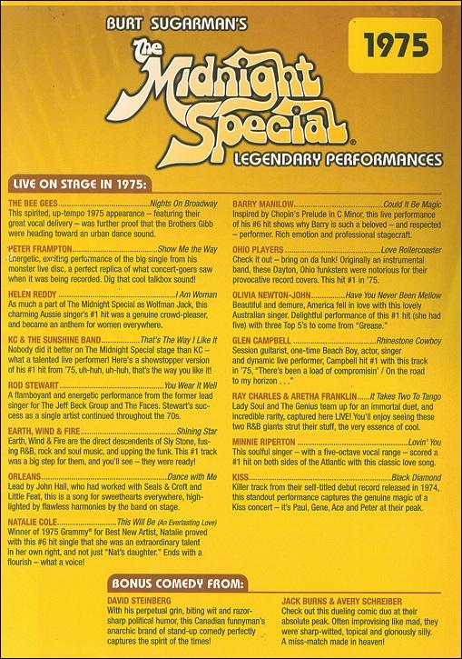 Midnight Special 1975 Dvd