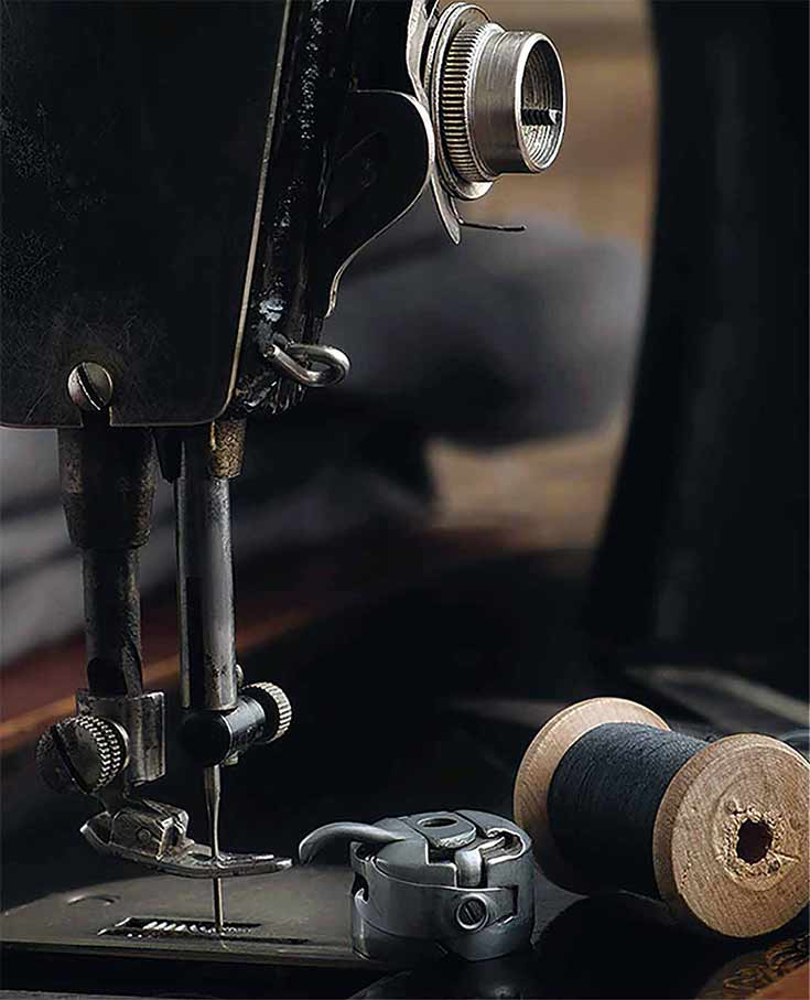 sewing machine used for alterations in nashville by only one tailoring