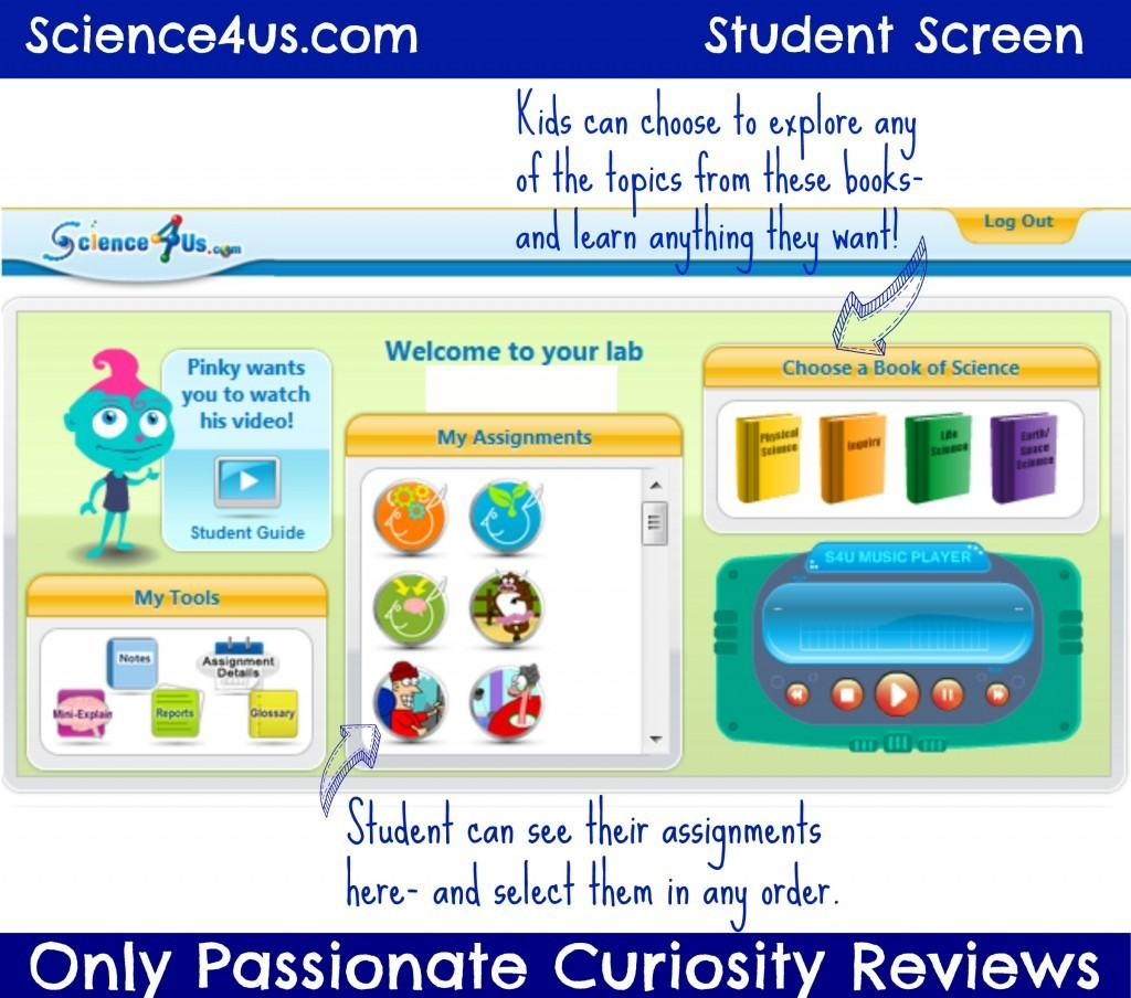 Science4us Early Elementary Science Online