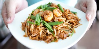 Penang Fried Koay Teow, Delicious!