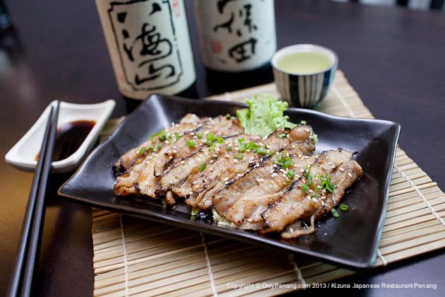Kizuna Buta Amiyaki, Japanese grilled pork