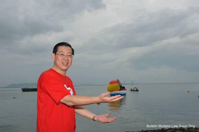 YB Lim Guan Eng and UBAH Bird In Air