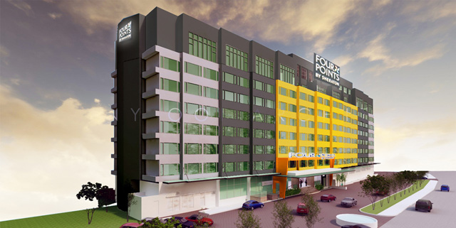 Grand opening of Four Points Hotel Penang, by Sheraton, 1 October 2013