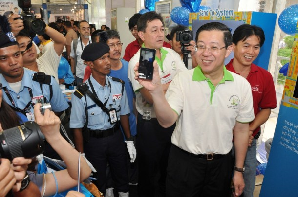 Lim Guan Eng the Chief Minister of Penang