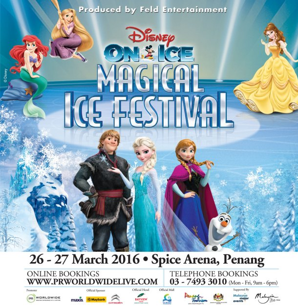 Penang Disney On Ice Presents Magical Ice Festival