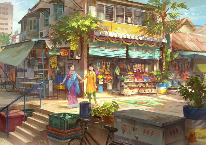 Penang Little India by Feigiap